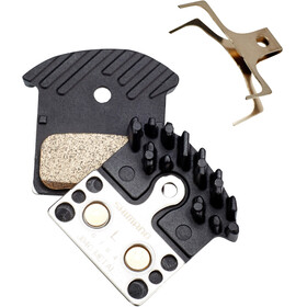 Shimano Ice-Tech J04C Disc Brake Pads with Cooling Fins Metallic 25 Pairs